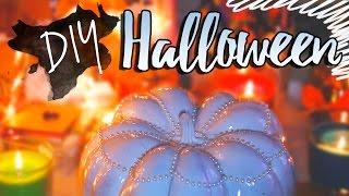 getlinkyoutube.com-DIY HALLOWEEN // Декор Комнаты к Хэллоуину Своими Руками