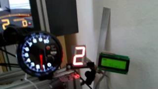 getlinkyoutube.com-DIY GTR2 Gear Indicator and LCD Tachometer