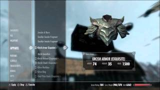 getlinkyoutube.com-EASY Skyrim INFINITE GOLD Glitch. (Ps3, Xbox, Pc)