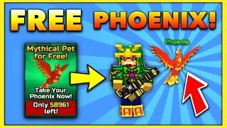 getlinkyoutube.com-FREE MYTHICAL PET! | Pixel Gun 3D - New Update 11.3.0 [Review]
