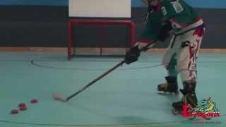 getlinkyoutube.com-Backhand Shot | Learn Inline Hockey