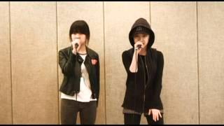 getlinkyoutube.com-YG Trainee - Kim Eunbi & Euna Kim Practice Clip