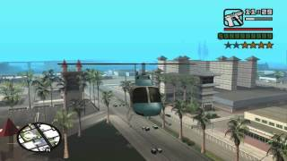 getlinkyoutube.com-GTA San Andreas make SanNews Chopper EP/FP and take it to Las Venturas
