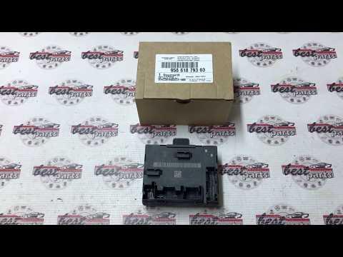 95861879303 Блок управления передней левой двери Porsche Cayenne 958
