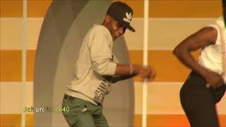what happens when Prof. Hamo asked a fan to help 'Odi dance'