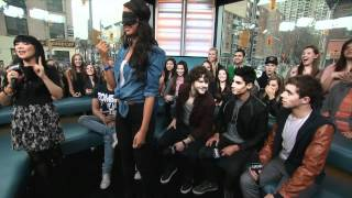 MuchMusic: The Wanted Give Kisses to One Lucky Fan on NML (Part 2 of 4)