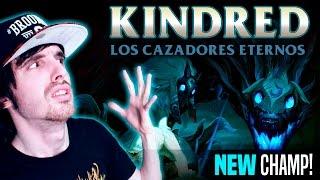 getlinkyoutube.com-¡NUEVO CAMPEÓN! KINDRED Y SU R ROTA ( EL CORDERO Y EL LOBO) Reacción
