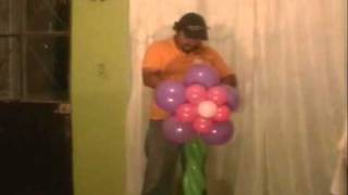 getlinkyoutube.com-curso decoracion con globos   columna de flores