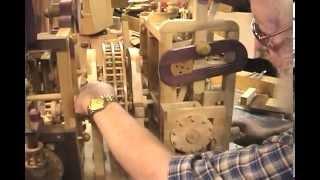 getlinkyoutube.com-Del Short's Beautiful New Wooden Machine