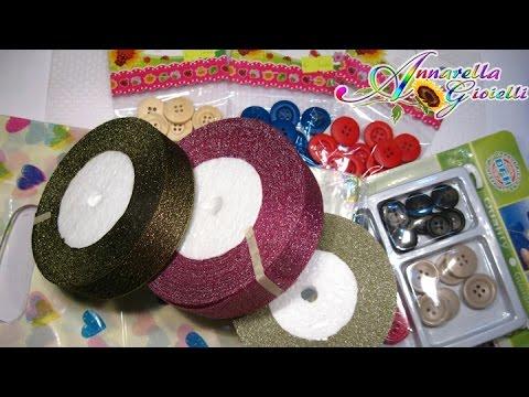 Acquisti creativi ottobre 2014 | Bottoni, gift bag e ancora nastri