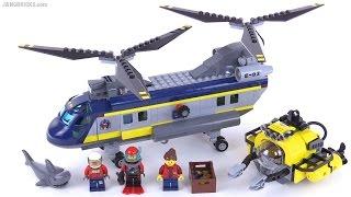 getlinkyoutube.com-LEGO City Deep Sea Helicopter review 🚁 set 60093