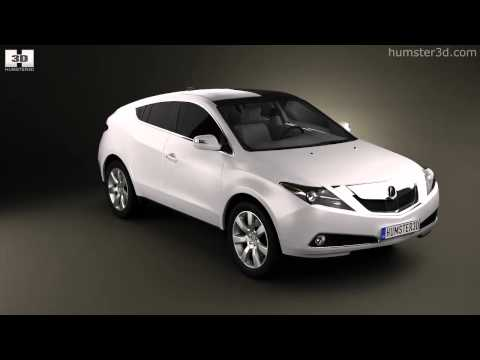 Acura  Review on Acura Zdx 2012 By 3d Model Store Humster3d Com