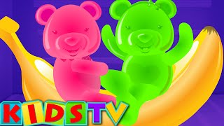 getlinkyoutube.com-Five Little Bears Jumping On The Bed | Nursery Rhyme And Kids Songs | Kids TV