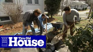 getlinkyoutube.com-How to Install a Dry Well for a Sump Pump - This Old House