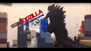 getlinkyoutube.com-Lego: Godzilla! (Stop-Motion)