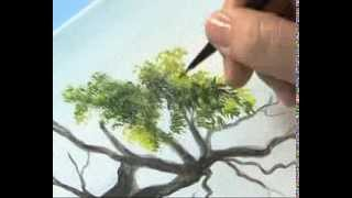 getlinkyoutube.com-Como pintar un paisaje realista - Ana Gjurinovich -  Bloque II