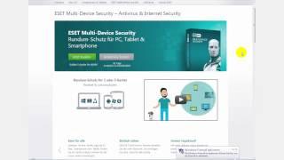 getlinkyoutube.com-[Tutorial] - Eset Smart Security - Deutsch