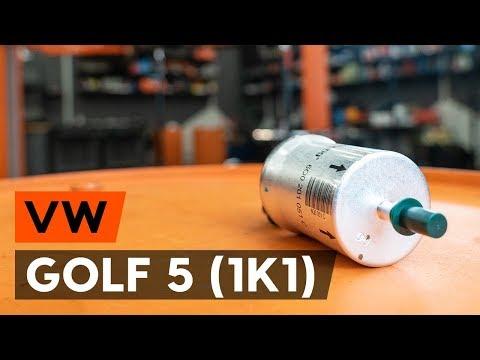 Как заменить топливный фильтр наVW GOLF 5 (1K1) (ВИДЕОУРОК AUTODOC)