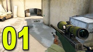 getlinkyoutube.com-CS:GO - Part 1 - First Game (CounterStrike: Global Offensive Gameplay)