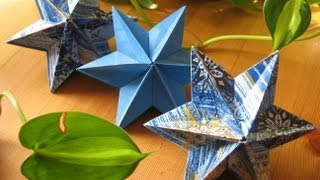 getlinkyoutube.com-Origami ★ Dominanta Star ★