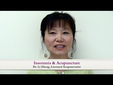Insomnia & Acupuncture