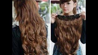 getlinkyoutube.com-••.•´¯`•.••Extensiones de cabello ¿ cabello natural o Sintéticas?••.•´¯`•.••