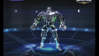 getlinkyoutube.com-Real Steel Champions   FREE SPARRING   Zeus (SILVER) VS SPARRING BOT NEW ROBOTS GAME