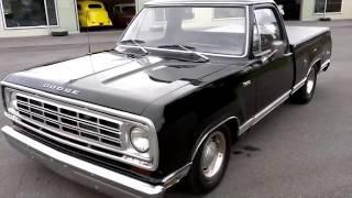 getlinkyoutube.com-1975 Dodge D100 Adventurer Sport