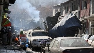Kabul suicide bombing leaves at least 95 dead and 158 wounded   ITV News