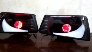 getlinkyoutube.com-peugeot 505 HEADLIGHTS