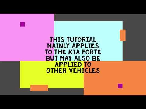 Cheap & Easy DIY Kia Forte Faulty Glove Box Locking Mechanism Repair