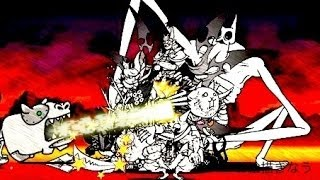 getlinkyoutube.com-【にゃんこ大戦争】 超激レア結集!!超メタルカバちゃんを5秒で倒す!!(in