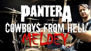 getlinkyoutube.com-PANTERA - COWBOYS MEDLEY - Drum Cover