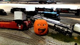 getlinkyoutube.com-The Stupid Orange In Train Wreck