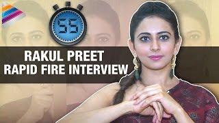 getlinkyoutube.com-Rakul Preet Exclusive Rapid Fire Interview | Sarrainodu Movie | Rapid 55 | Telugu Filmnagar