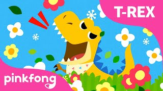Baby T-Rex | Dinosaur Songs | Pinkfong Songs for Children