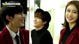 getlinkyoutube.com-[Vietsub] [151022] ZHOUMI, Ji Yeon , HongBin MC CUT @ Behind THE SHOW