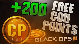getlinkyoutube.com-How To Get Call Of Duty Points In BLACK OPS 3 For FREE! - BO3 200 FREE COD POINTS!