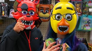 getlinkyoutube.com-TOY SHOPPING HUNT | HATCHIMALS, POKEMON, FIVE NIGHTS AT FREDDY'S & MORE! | RADIOJH AUDREY