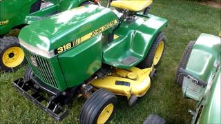 getlinkyoutube.com-Evolution of the John Deere Garden Tractor