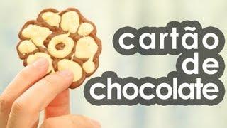 getlinkyoutube.com-Cartão de chocolate (presente para Dia dos namorados e Páscoa) (receita)