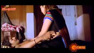 Sangeetha Hot navel pinch