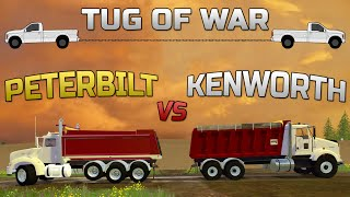 getlinkyoutube.com-Farming Simulator 2015- Peterbilt VS Kenworth Tug Of War!