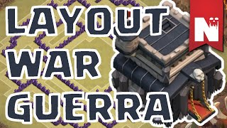 getlinkyoutube.com-Layout WAR / GUERRA - CV9 / TH9 - Clash of Clans