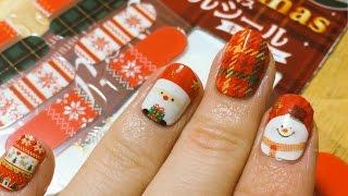 getlinkyoutube.com-激カワ♡ダイソーのクリスマスネイルシールを貼ってみた。  - 2014.12.24 SasakiAsahiVlog