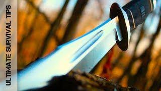 getlinkyoutube.com-Wow! Beastly Blade! SOG Creed Knife - REVIEW