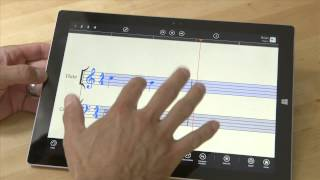 getlinkyoutube.com-Using StaffPad on MS Surface, Workflow for Writing Music Notation