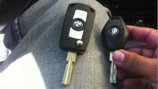 getlinkyoutube.com-BMW e39 Folding Flip Key Case Shell Refit