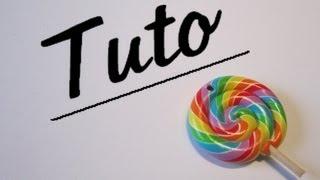 getlinkyoutube.com-Tuto fimo lollipop multicolore