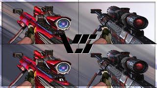 getlinkyoutube.com-CrossFire 2.0 : BARRETT M82A1-IRON SHARK vs BORN BEAST [VVIP Sniper Comparison]